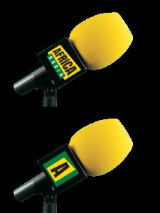 AFRICA RADIO MONTAJE DADO NEGRO.