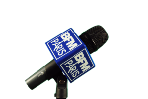 Windshields for microphones with logo