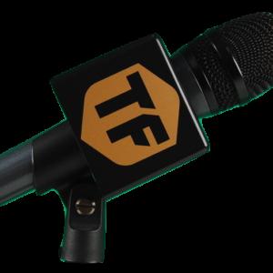 Cube flag microphone personnalisé