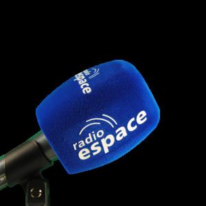 MOUSSE MICROPHONE RADIO AVEC BRANDING