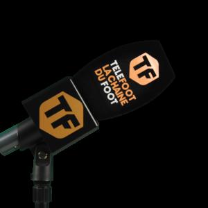 Bonnette+flag microphone personnalisé